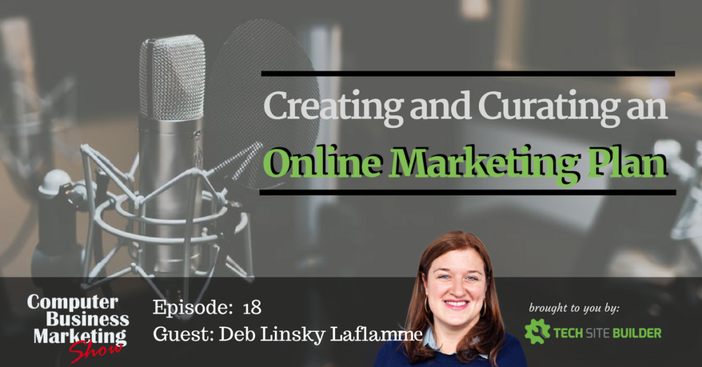 Creating and Curating an Online Marketing Plan