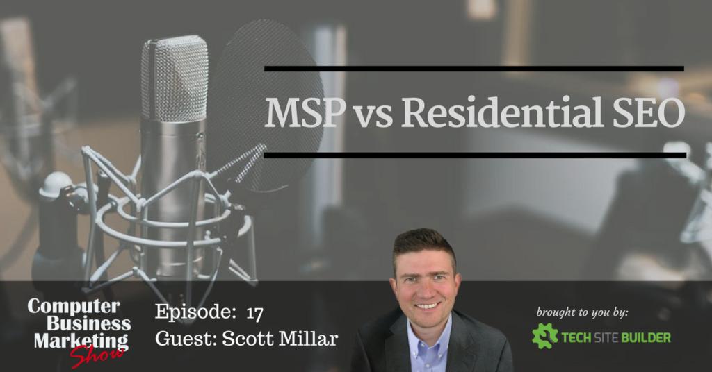MSP vs Residential SEO