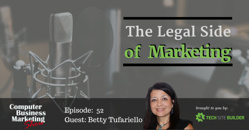 Episode 052: The Legal Side of Marketing