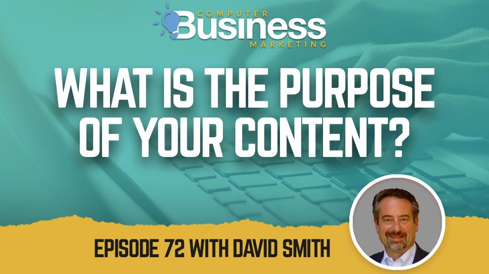 What is the Purpose of Your Content?